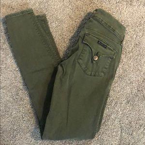 Hudson Olive Skinny Jean